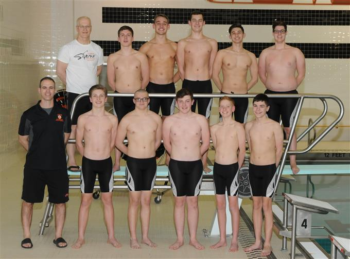 2018-19 Boys Swim Team