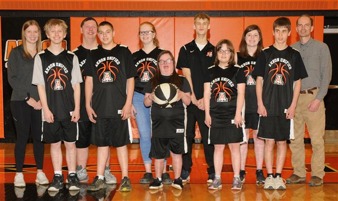 2019 Unified Basketball Team