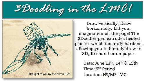 3Doodler Session Sign Up