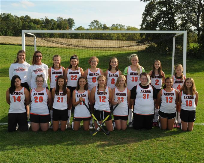 2019 Modified Field Hockey Team