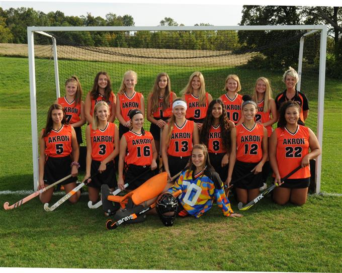 2019 Varsity Field Hockey Team